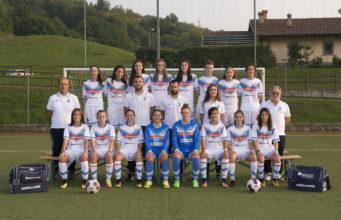 La rosa delle Allieve delle Giovanili del Brescia Calcio Femminile