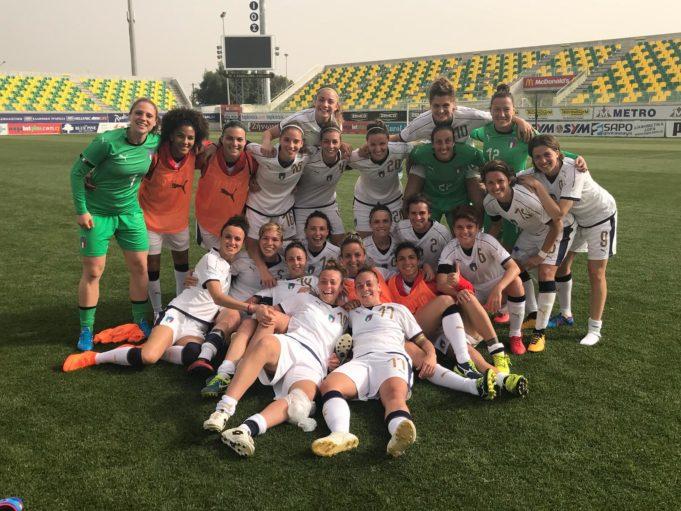 Il gruppo delle Azzurre pronto per la sfida che vale davvero tutto: segui la diretta LIVE di Italia-Belgio, valida per la qualificazione al Mondiale su calcioinrosa.it