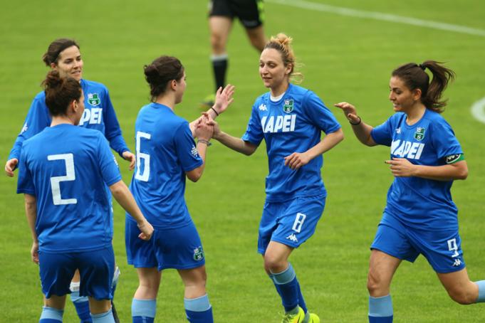 Il Sassuolo sarà impegnato negli spareggi Serie A femminile