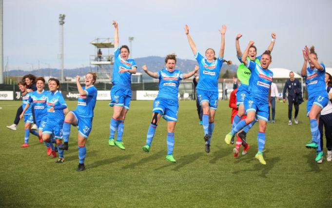 Juventus-Brescia 1-2, le Leonesse agganciano la vetta della classifica