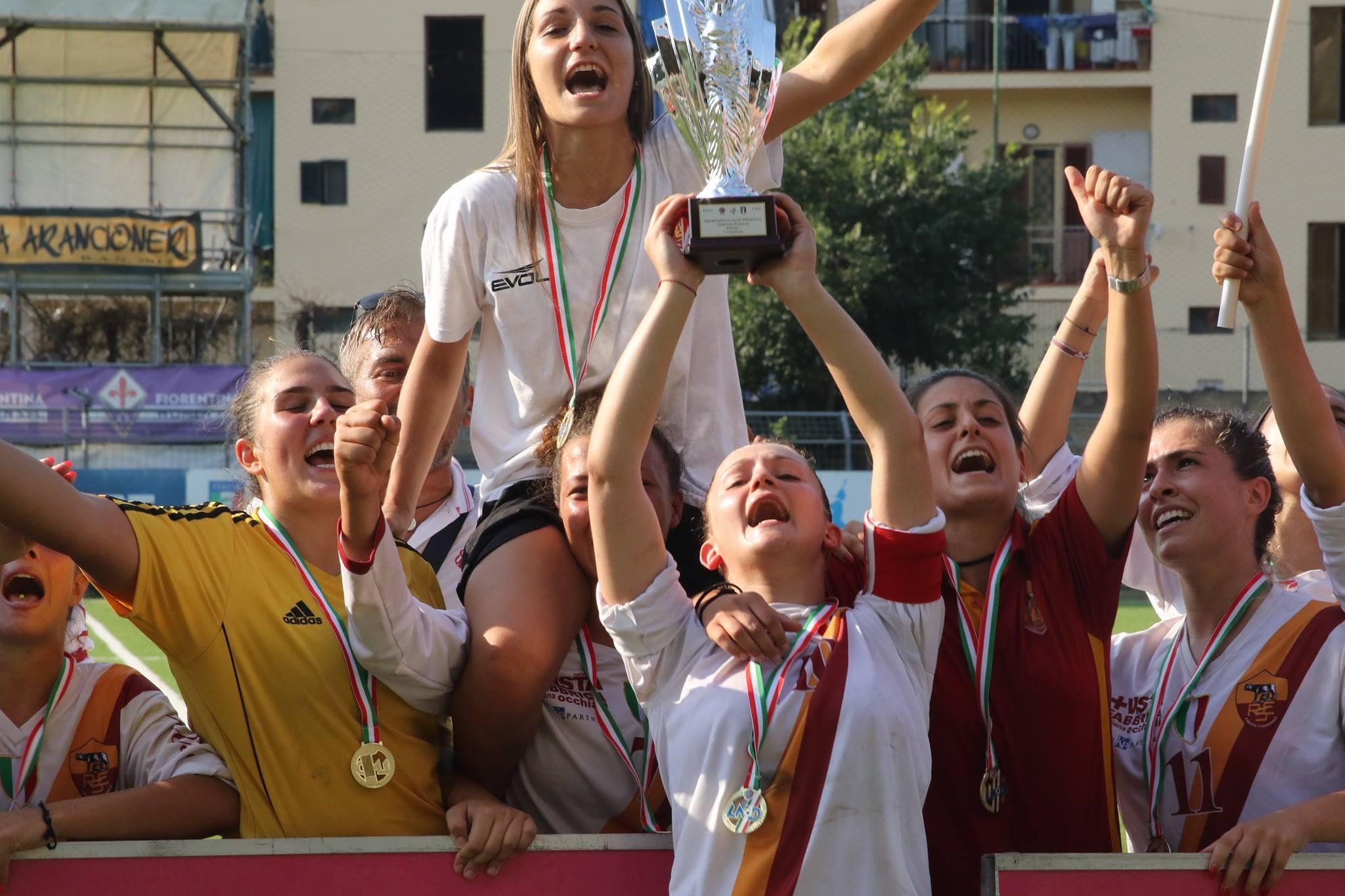 Res Roma, campionesse in carica del Campionato Primavera: quest'anno costrette ad abdicare