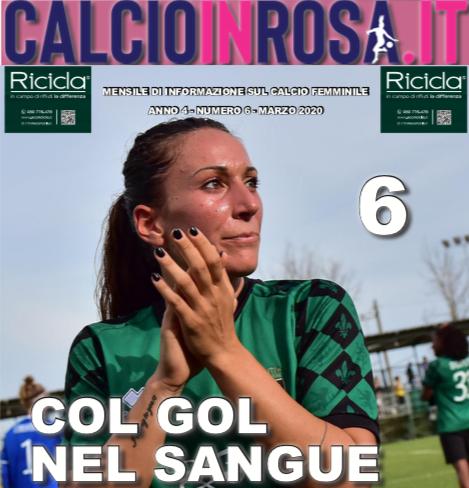 calcioinrosa magazine marzo 2020