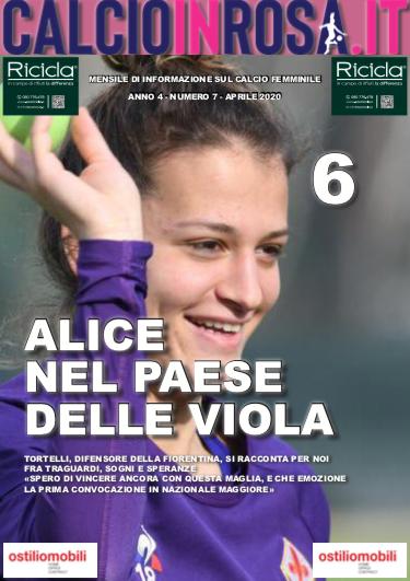 calcioinrosa magazine aprile 2020